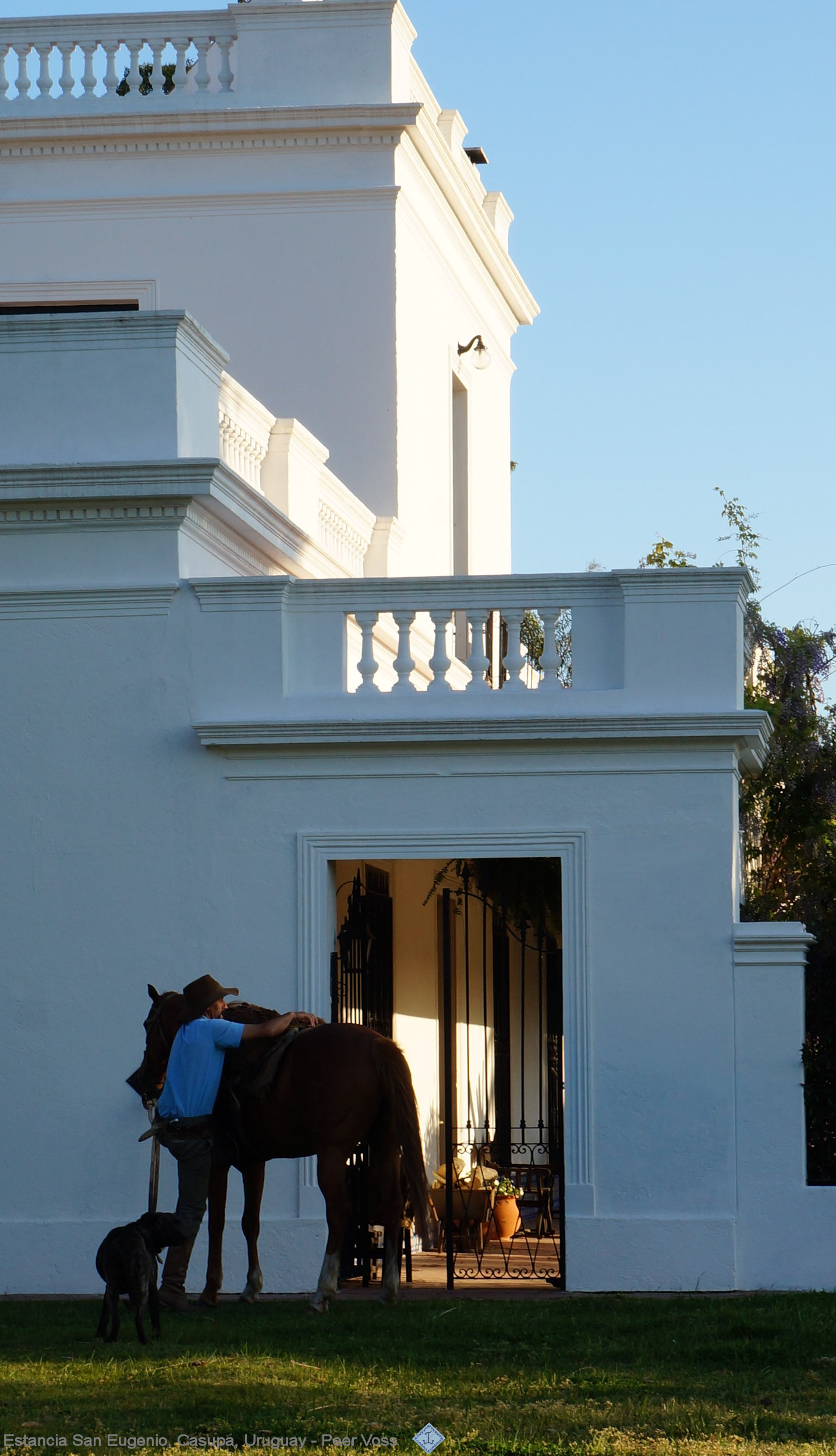 estancia and horseman Uruguay