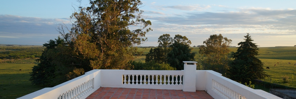 terrace of Estancia