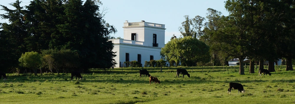 Estancia from rear